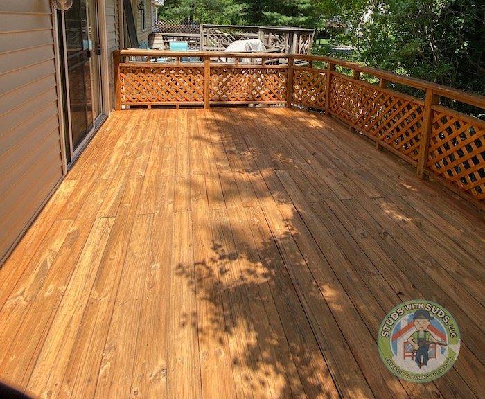 Deck & Fence Restoration Image