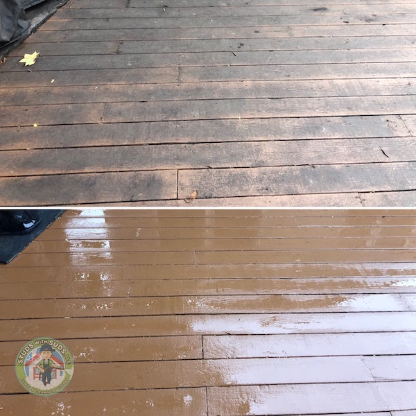 Deck Restoration Before & After